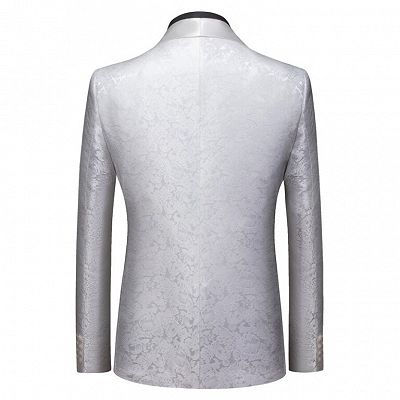 Jake Bespoke Slim Fit Shawl Lapel One Button Wedding Tuxedo_2