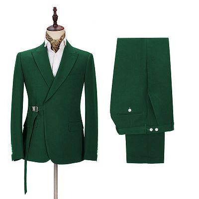 Tucker Green Slim Fit Handsome Men Suits Online for Prom_2