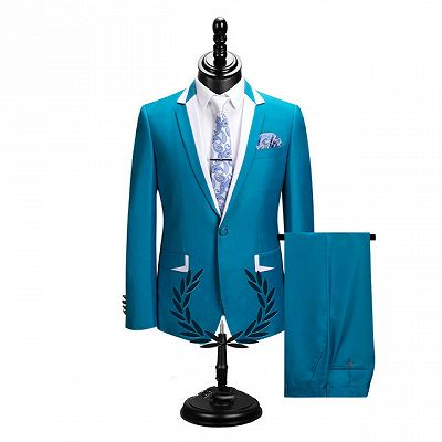 Hector New Arrival Notched Lapel Best Fitted Cheap Men Suits for Prom_2