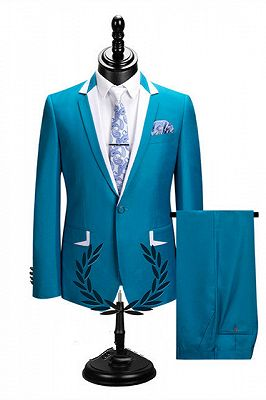Hector New Arrival Notched Lapel Best Fitted Cheap Men Suits for Prom_1