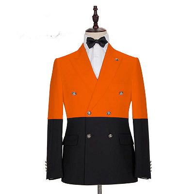Braylon Fashion New Arrival Slim Fit Peaked Lapel Prom Outfits for Boys_2