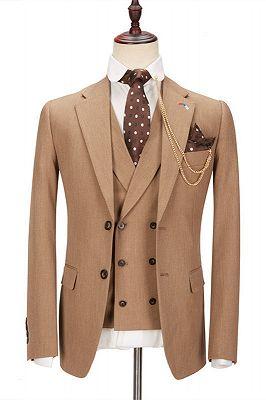 Kellen Stylish New Arrival Notched Lapel Slim Fit Men Suits_1