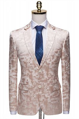 Casual Pink Tuxedo Jacket | Classic Prom Suits for Men_1