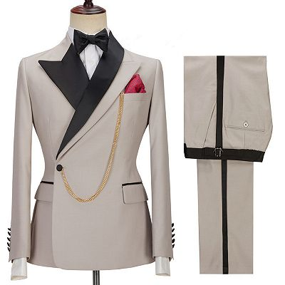 Emerson Stylish Peaked Lapel Slim Fit Men Suits for Prom_3