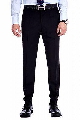 Stylish Knitted Button Black Shawl Lapel Three Piece White Jacquard Wedding Tuxedo for Men_4