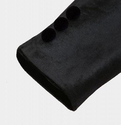 Jaime Black Velvet Dinner Jacket   Formal Business Men Suit_4