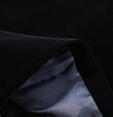 Black Velvet Wedding Men Suits | Classic Business Blazer Online_4