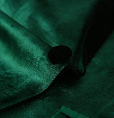 Green Velvet Tuxedo Jackets | Declan One Piece Prom Suits_3