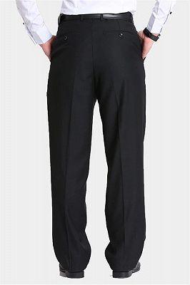 Formal Black Dress Mens Pants_2
