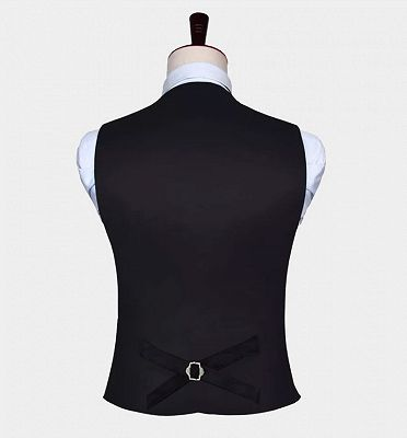 Turquoise Paisley Vest Set for Sale_4