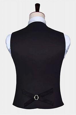 Fashion Cobalt Blue Paisley Prom Mens Vest Online_2