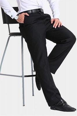 Formal Black Dress Mens Pants_3