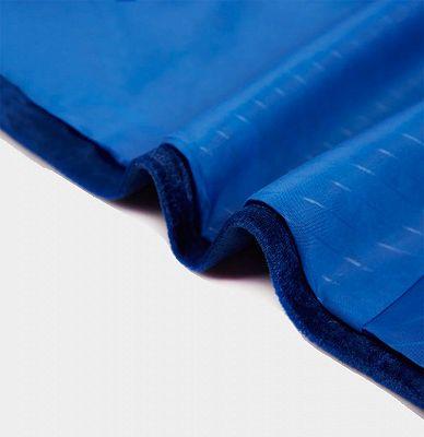 Blue Velvet Blazer for Men | One Piece Shawl Lapel Tuxedo_5