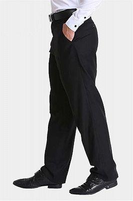 Formal Black Dress Mens Pants_1