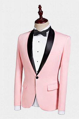 Casual Pink Tuxedo Jacket | Classic Prom Suits for Men_2