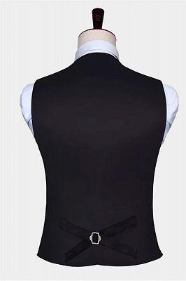 Silver Paisley Vest Set   Bespoke PromMens Vest_2