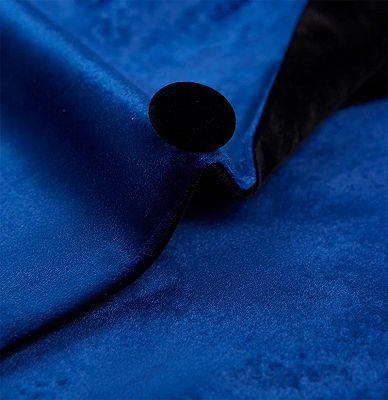 Blue Velvet Blazer for Men | One Piece Shawl Lapel Tuxedo_3