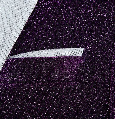 Shiny Purple Sequin Blazer Online | Peak Lapel Glitter Prom Men Suits_3
