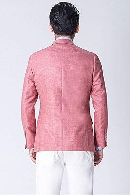 Pink Blended Prom Suits | Dean Slim Fit Blazers for Men_2