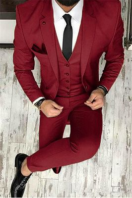 Olive Slim Fit Prom Suit Online | Bespoke Outfits Tuxedo for Graduation ,Wedding Suit Three Pieces_2